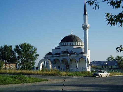 Masjid Verkhnyaya pyshma di Russia